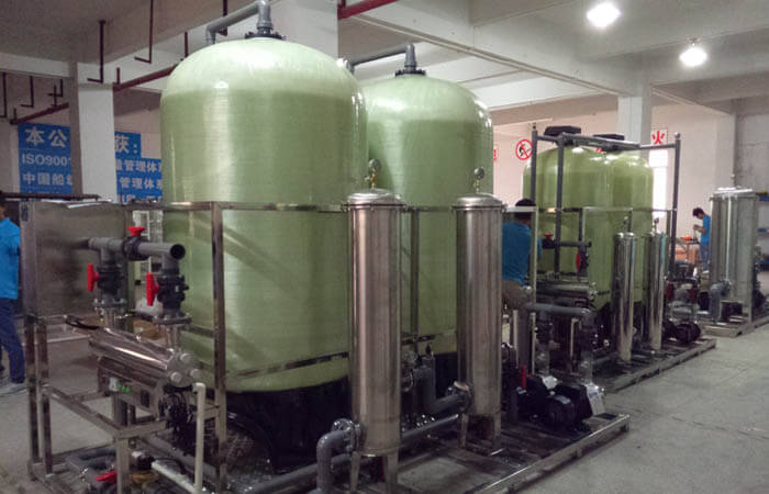 spring water purification system