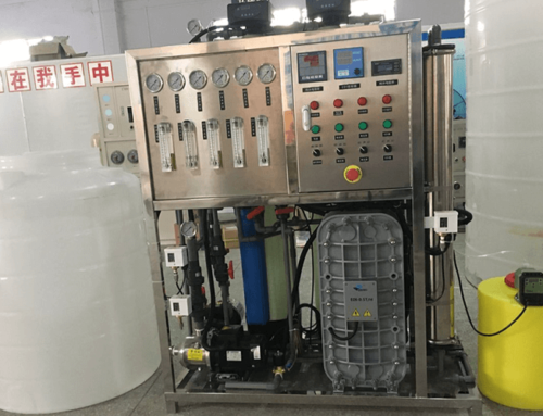 250LPH EDI Water Treatment Ultrapure Water System Applied to High-tech Laboratory